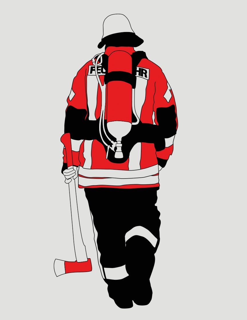 feuerwehr herxheimweyher felix kalka rh felixkalka com fire rescue graphic design fire department logo design software